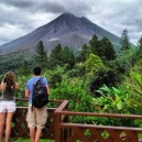 terrace volcan arenal