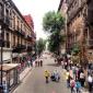 en la calle