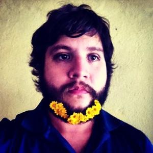 beard & flowers